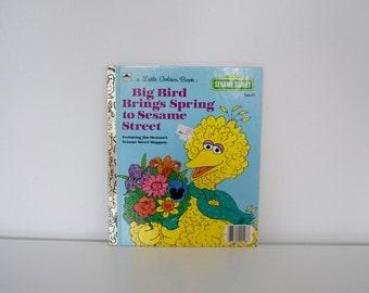 S A L E Big Bird Brings Spring to Sesame Street (1985)