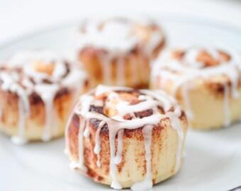 Cinnamon Bun Soaps  - soap gift set -food soap -Cinnamon Rolls - shower favors