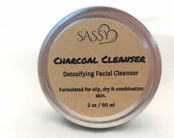 Activated Charcoal & Honey Detoxifying Facial Cleanser