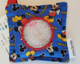 I Spy Bag, Mickey Mouse, Car Game, Educational Game, Busy Bag, Travel Toy, I Spy Game, Party Favors, Eye Spy Game, Sensory Toy