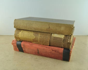 Lot of 3 Vintage Hardcover Books
