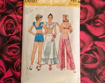70's Vintage Simplicity Pattern #5697 Size 8