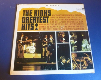 The Kinks Greatest Hits ! Vinyl Record RS-6217 Reprise Warner Bros Records