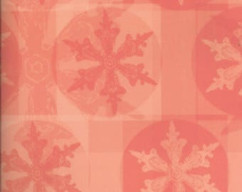 Daisy D's ~ 12 x 12 Decorative Scrapbook Paper ~ Snowflake ~ Winter Poppy