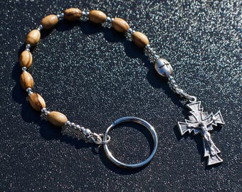 Olive Wood Penal Rosary