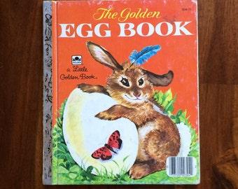 The Golden Egg Book - Easter - Vintage Little Golden Book 1975