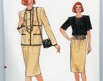 Vintage Vogue Sewing Pattern - 9503 ca.1986 - Uncut - Factory Folded