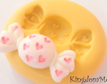 Candy   Clay      Silicone Mold fondant mold resin mold