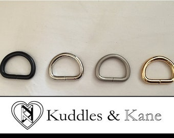 15mm D-Ring For Use With Bag Loops - Set of 2