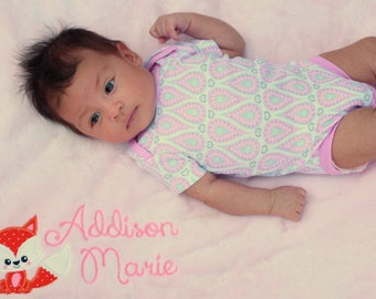 Personalized Baby Blanket - Fox Baby Blanket - Baby Girl Blanket - Woodland Baby Gift - Fox Nursery