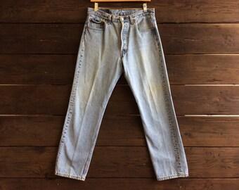 Vintage 90s 501 Levis W33 L30