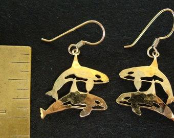 Wild Bryde dolphin earrings