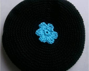 round coin purse crochet cotton