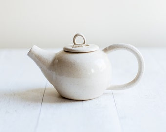 Speckle Stoneware One to Two Cup Teapot - Made to Order