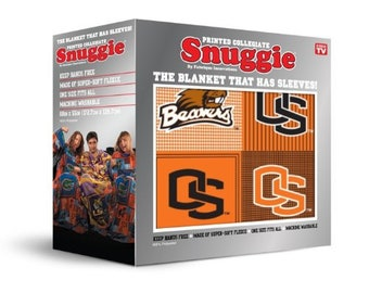 Oregon State Snuggie-Officially Licensed Oregon State Snuggie-Brand New Boxed Snuggie