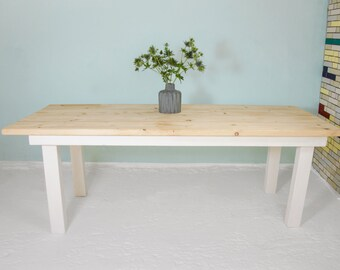 Table made of Recycled Geruestbohlen | Sprengel
