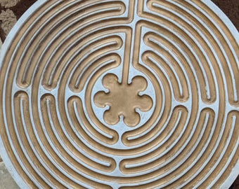 finger prayer labyrinth