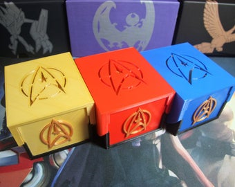 Ultimate Pokemon Deck Box - Star Trek