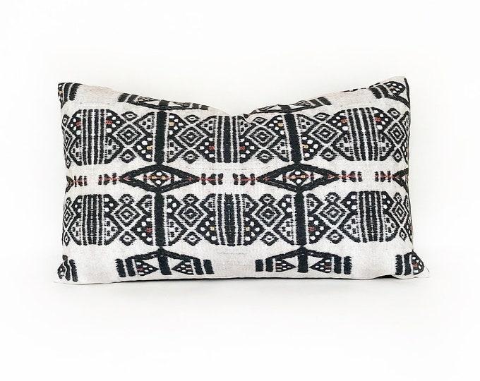 OUTDOOR African Fulani Printed Lumbar Pillow Cover 12x20