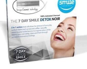 7 Days Detox Smile Enhance Noir