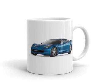 2016 Chevrolet Corvette Mug - Blue