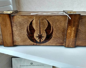 Custom lightsaber storage/display box