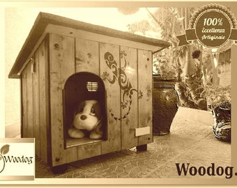 "Kennel for ""MIA"" dog produced by Woodog"