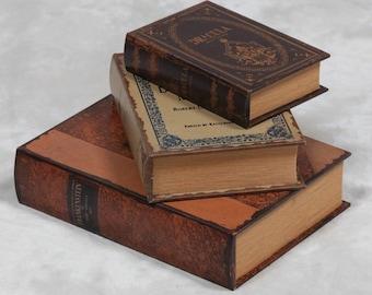 Antique Horror Book Storage Cases