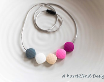 Silicone Nursing Necklace / Silicone Teething Necklace