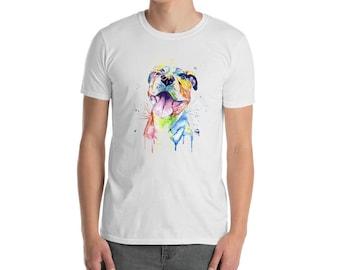 Mens Pitbull T Shirt, Bullshirt, Pit Bull, Pitbull Shirt, Pet Art, Bullys, Gifts For Him, Pitbull Gear, Pitbull Merchandise, Pitties, Dogs