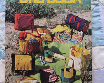 Lucy's Bag Book, Vintage Softcover Book, Patterns and Instructions for 42 Special Purpose Bags, 1978