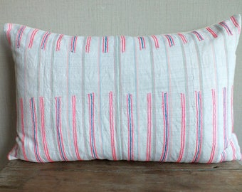 40x60 cm, Vintage HempTextile,  Decorative Cushion cover, lumbar cushion,Sofa Cushions & Scatter Cushions