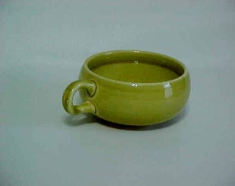 Russell Wright Steubenville Chartreuse Coffee Cup