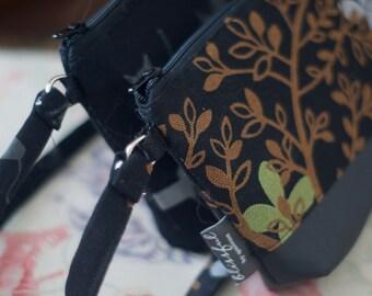 Custom wristlet wallet   Vegan wallet   Shoulder Bag   Fabric wristlet   Clutch wallet   Wallet