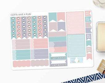 Planner Stickers Pastel Explosion Functional Items for Erin Condren, Happy Planner, Filofax, Scrapbooking