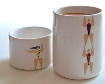 Acrobats --- Ceramics