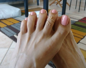 Gold Filled Toe Ring//Gold Rings//Summer Rings//Handmade Jewelry