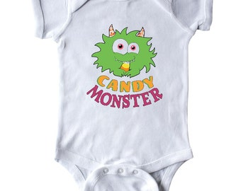 Candy Monster Infant Creeper by Inktastic
