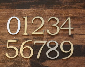 "Classic 2"" Numbers 