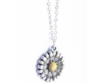Charmed Daisy Necklace
