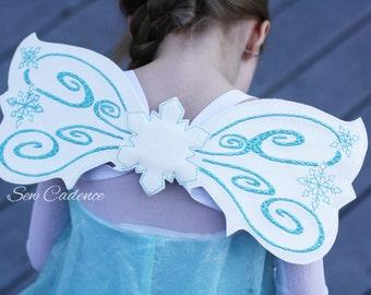 Frozen Ice Wings ~ Ice Queen Dress Up ~ Queen Elsa Costume ~ Elsa Dress Up Wings ~ Ice Fairy  Wings ~ Cosplay Winter Wings ~ Comic Con Wings