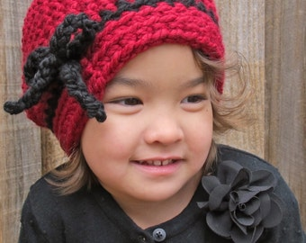 CROCHET PATTERN - Going Somewhere - chunky crochet hat pattern, slouchy hat, bulky yarn (Toddler Child Adult sizes) - Instant PDF Download