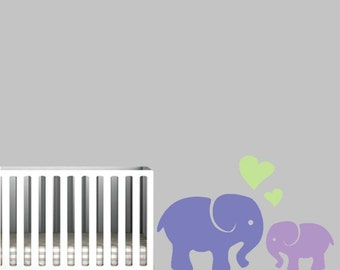 Elephant Wall Decal for Nursery