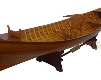 "24"" Scale Adirondack Guideboat Canoe Display Model"