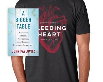 Bleeding Heart - Tee/Book Bundle