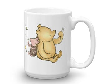 Sassy Pooh and Piglet Mug * Adult Message