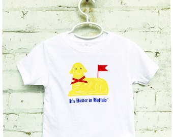 buffalo ny gift // buffalo baby gift // butter lamb t-shirt // it's butter in buffalo // buffalo baby clothes // buffalo onesie