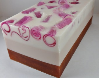 Pink Sugar Type Soap Loaf