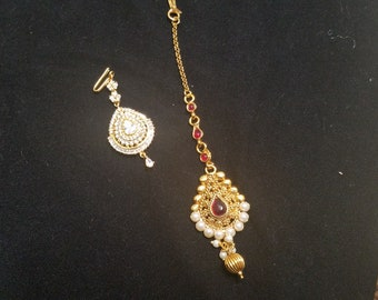 Gold plated tikka