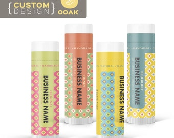 OOAK - Custom Label Design - Lipbalm Labels no.008 - Make your works standing out.